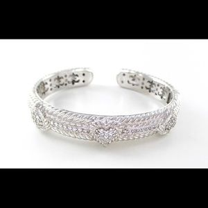 Judith Ripka Diamonique Cuff Bangle